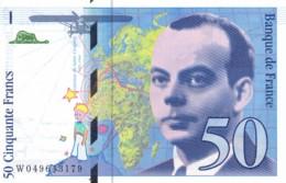 Billet 50 Francs  SAINT-EXUPERY 1999 - 50 F 1992-1999 ''St Exupéry''