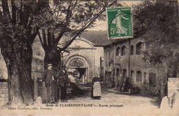 S50-041 Usine De Clairefontaine - Entrée Principale - Francia