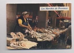 MARCHANDE De POISSONS - Marché De TOULON - Gros Plan - Animée - Verkopers