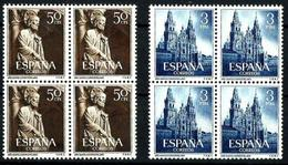 España Nº 1130/1 En Nuevo. Cat.420€ - 1951-60 Unused Stamps