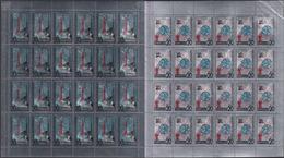 USSR 12.04.1965 SHEETS Mi # 3042-43, Cosmonautics Day MNH OG - Hojas Completas