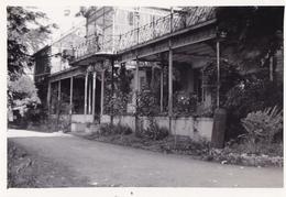 PHOTO ORIGINALE 39 / 45 WW2 WEHRMACHT FRANCE ALENCON VUE SUR LES QUARTIERS ALLEMANDS - Guerra, Militari