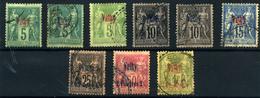 Vathy Nº 1/2, 4/9. Año 1893/1900 - Samos