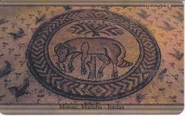 TARJETA DE JORDANIA DE 5JD DE JORDAN 2000 MOSAIC MADABA - Jordanie