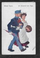 AK 0383  Wiener Typen - Ihr Korporal Vom Tage / Werbung Prater-Lichtspiele 1914-18 - Humor