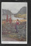 AK 0383  Götzinger , Hans - An Der Donau / Wiener Kunst Um 1912 - Pintura & Cuadros