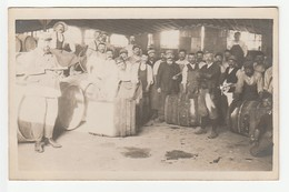 MONTEREAU ? CARTE PHOTO CAVE ALCOOL MILITARIA /FREE SHIPPING REGISTERED - Montereau