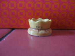 Fève Paul Galette Couronnée  - Série Publicitaire Paul 2011 - Fève - Rare - Ancienne - Oude