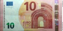 10 EURO SPAIN(VA) V003 DRAGHI, Auncirculated - 10 Euro