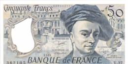 """Billet 50 Francs """" QUENTIN DE LA TOUR 3 - 1984. - 50 F 1976-1992 ''quentin De La Tour''"""
