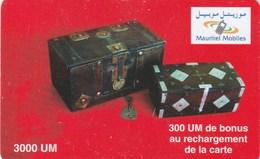 Mauritania - Mauritel - Boxes + Bonus - Mauritania