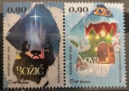 Bosnia And Hercegovina, HP Mostar, 2019, Christmas And New Year (MNH) - Christmas