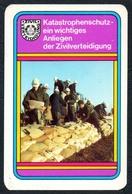 D0478 - Zivilverteidigung Katastrophenschutz - Visitenkarte Kalender Werbung Reklame DDR - Visitenkarten