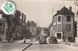 89 - Carte Postale Semi Moderne De  AILLANT Sur THOLON  La Poste Et La Rue Des Ponts - Aillant Sur Tholon