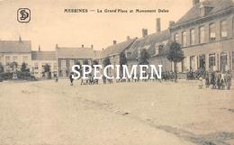 La Grand'Place Et Monument Deleu - Messines - Mesen - Messines - Mesen