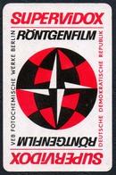 D0426 - VEB Fotochemische Werke Berlin Supervidox - Visitenkarte Kalender Werbung Reklame DDR - Visitenkarten