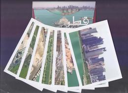 QATAR PICTURE POSTCARD - 7 Different Beautiful Cards In Official Pack Complete, Size=10cm X14cm, Unused - Qatar