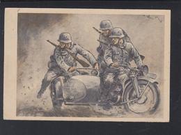 Dt. Reich PK 1940 Motorrad - Weltkrieg 1939-45