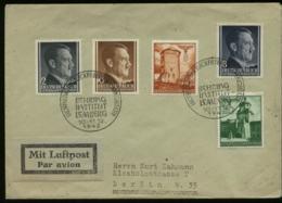 P0994 - DR Generalgouvernement Polen MiF Auf Luftpost - Briefumschlag: Gebraucht Mit Sonderstempel Behring Institut Le - Deutschland