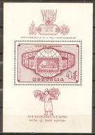 FILATELIA - MONGOLIA 1965 - Yvert #H9 - MNH ** (puntos De Oxido En La Goma) - Exposiciones Filatélicas