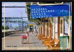 01  CULOZ  .....  La  Gare  .... Les  Quais - Autres Communes