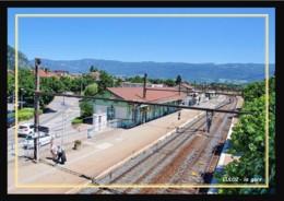 01  CULOZ  .....  La  Gare  Vue D'ensemble - Autres Communes