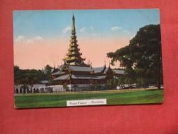 Royal Palace Mandalay    Ref 3768 - Myanmar (Burma)