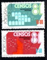 N° 1492,3 - 1981 - Used Stamps