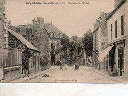 St - Brice  En  Coglés -   Boulevard  De  L' église. - France