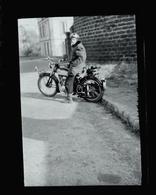 Negatif Photo Ancienne - Moto - Coches