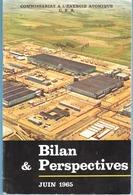 Commissariat à L'Energie Atomique-C.E.A.Bilan & Perspectives-Brochure-60p Largement Illustrée-juin 1965-infrastructures. - Wissenschaft