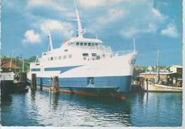AK-div-33- 0692  - Das Fährschiff Aero Pillen  Im Hafen Von Soby Aero - Dänemark