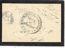 65-cachet Hôpital Bénévole De Sénéac -Centre De Physiothérapie (N° 133 Bis) Sur Lettre Avec Correspondance En 1917 - Guerre De 1914-18