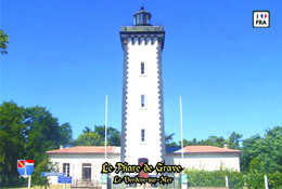 Set 6 Cartes Postales, Phares, Lighthouses Of Europe, France, Le Verdon-sur-Mer, Le Phare De Grave - Vuurtorens