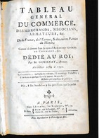 Tableau Du Commerce De 1789: 6 Pages: Liste Des Armateurs ... Négocians...les Changes ( Photocopie - Documentos Históricos