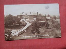 RPPC  Sturtevant Home From Belfry     Ref 3769 - Postcards