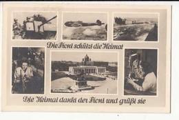 CPA Allemagne - Die Front Sckützt Die Heimat  - Achat Immédiat - (cd012 ) - Guerra 1939-45
