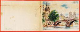 Nw626 Epreuve Imprimerie BARRE DAYEZ 12533 D Illustrateur G.A DUMARAIS - PARIS Pont SAINT-MICHEL Et Palais De JUSTICE - Illustrators & Photographers