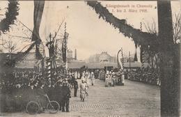 Allemagne . Königsbesuch In Chemnitz . 1 . Bis  3 März 1905 . - Allemagne
