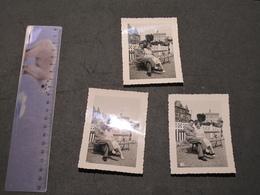 ROCHEFORT - 17 JUIN 1951 - 3 PHOTOS N/B - Places