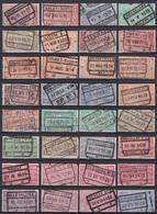 Spoorwegzegels - Bahnwesen