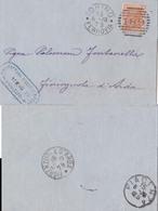 Italy 1879 20 Orange {63} Torino Duplex D.s. {Please  Request  For Invoice} - Italien