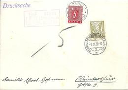 "Taxierter Sonderstempel  ""Horgen 100 Jahre Sekundarschule""        1938 - Covers & Documents"