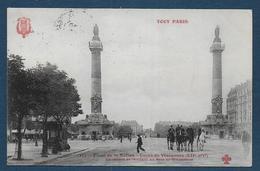TOUT PARIS  XIIe - Place De La Nation - Cours De Vincennes - Distretto: 12