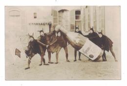 CARTOLINA CARNEVALE DI COMO  1915 STUDIO FOTOGRAFICO MONTORFANO E TETTAMANTI - Au Bon Marché