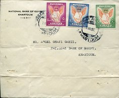 49718 Sudan, Cover Circuled 1957  Independence Day - Sudan (1954-...)