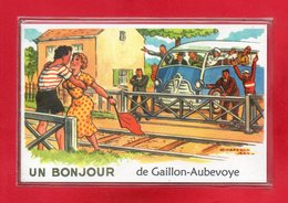 27-CPSM GAILLON AUBEVOYE - Aubevoye