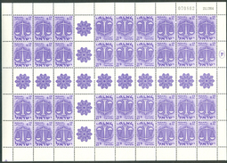"""Israel SHEET - 1965, Michel/Philex No. : Xxx, Bale : IrS.19 Zodiac TB Sh. Date 21.12.64"""" TETE BECHE- BOGEN - MNH - *** - - Blocs-feuillets"""
