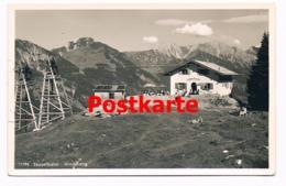 014 Sesselbahn Bergstation Imberger Horn Hüttenstempel Alpenverein Selten !! - Hindelang