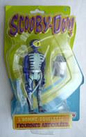 FIGURINE SCOOBY-DOO LANSAY L'HOMME SQUELETTE En Blister 2007 SCOUBIDOU - Figurines